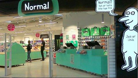 ÅPNER SNART: Butikkjeden Normal åpner sin første butikk i Telemark i slutten av denne måneden. Foto: Normal