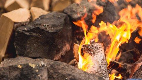 DYR VARME: En 60-åring fra Notodden er idømt en bot på 4000 kroner, etter at han i sommer tente bål i skogen. 60-åringen har tatt betenkningstid på om han skal anke eller godta dommen.