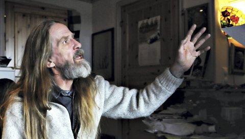 Har sett lyset: Elg tar sitt Solsnu-konsept ut på landeveien – eller rettere sagt til kirker rundt om i Møre og Romsdal. 22. desember runder han av i Nordlandet kirke.