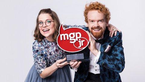 Sigrid «Siggen» Velle Dypbukt og Mikkel Niva gleder seg vilt til å lede MGPjr den 3. november 2018.