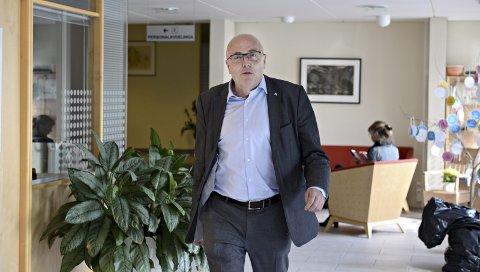 Stig Slørdahl vil styrke økonomien til Helse Møre og Romsdal.