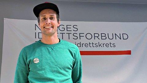 Nils-Erik Ulset har begynt i jobb som fagkonsulent i Møre og Romsdal idrettskrets. Foto: NIF