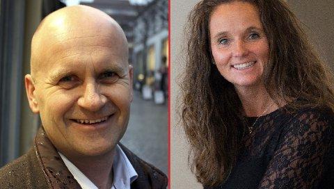 PÅ SAKEN: Rune Hogsnes (H) og Ellen Eriksen (Frp) har på hver sin front engasjert seg i saken om økonomisk støtte til «Ole III».