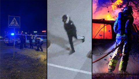 PÅGREPET: Politiet mener de har pågrepet mannen som ble filmet av et overvåkingskamera på Kilen i tidsperioden drapet skjedde.