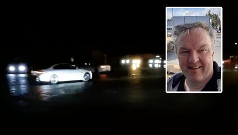 SOSIALISERING: Jon Torjus Alten syntes det er flott at ungdom samles i hver sin bil og leker seg.