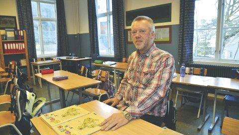 Rektor: John Johansen er rektor ved Tvedestrand og Vestre Sandøya skole.