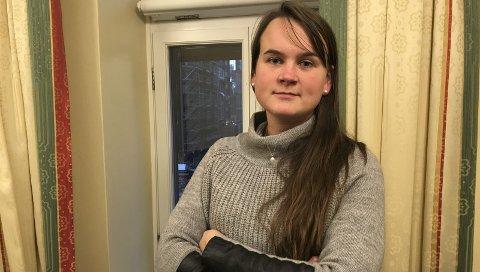 Letta: Vinda var en omstridt sak i kommunestyret, og nå puster jeg letta ut, sier Marit Knutsdatter Strand (Sp).