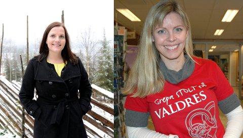 OPTIMISME: Linda Mæhlum Robøle og Merete Hovi er optimistiske for sommersesongen.