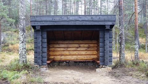 GAPAHUK: Det er gapahuker av denne typen som Sokndal kommune gjerne vil få lov til å plassere ut.