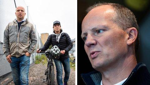 REAGERER: Ketil Solvik-Olsen (Frp) reagerer kraftig på Sp-toppene, Trygve Slagsvold Vedum og Jan Bøhlers utspill om fossilfrie soner i Oslo.