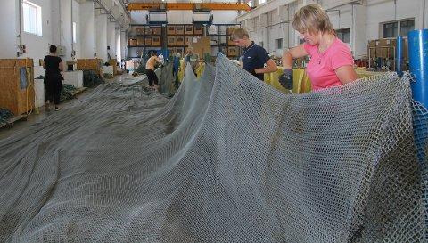 DEMONTERT: Nota blir demontert ved Nofir sitt anlegg i Litauen og sendt videre til Aquafils fabrikk i Slovenia.