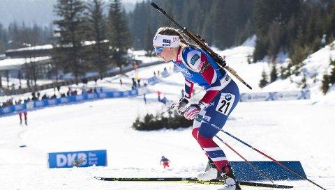Hilde Fenne er vraket til normaldistansen i VM, men har fortsatt en sjanse til å komme på stafettlaget. (Foto: NTB scanpix)