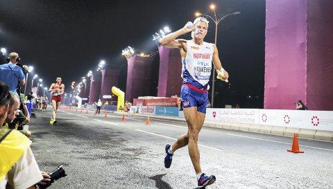 Ny trener: Bergenser Håvard Haukenes er et av lokalidrettens største håp til OL i Tokyo. Han håper samarbeidet med tidligere verdensmester Robert Heffernan skal øke sjansene for OL-suksess.Arkivfoto: NTB