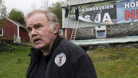 OMKOM: Kurt Oddekalv (63) omkom då han gjekk gjennom isen på Bahusvatnet 11. januar. No vert han heidra med ein eigen stein på Walk of fame på Nøstet. FOTO: ARNE RISTESUND