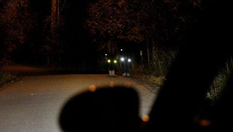 STOR HJELP: Med refleks reduserer du faren for å bli påkjørt i mørket med 85 prosent.