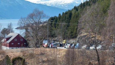 DØDSULYKKE: 14. april omkom ein mann i 40-åra på riksveg 55 ved Nornes. No har Havarikommisjonen klar ein rapport om ulykka.