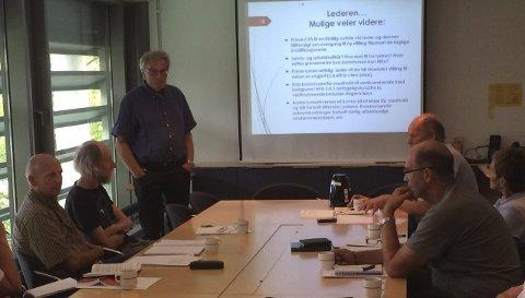 Regler i fremtiden: I forrige møte redegjorde Arne Øren for hvordan ulike enkeltsaker er håndtert, men ikke konkret saken som utløste det hele. I dag behandler administrasjonsutvalget en prinsippsak om tilfeller hvor ledere «trapper ned» i stilling. arkivfoto: Ellen ophaug
