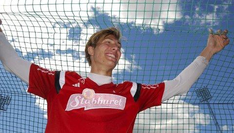 TENT: Håvar G. Jensen ser frem til å ta fotballferie, men før det skal ny 1. divisjonskontrakt med FFK sikres. Foto: VIDAR HENRIKSEN