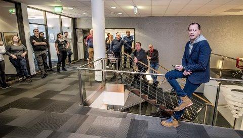 FBs sjefredaktør René Svendsen informerte de ansatte i FB om oppkjøpet mandag.