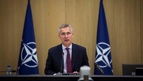 BEKYMRET: Det er dypt alvorlig at vi ser stadig flere atomvåpen i nord. Ansvaret for dette hviler på Russland, sier Natos generalsekretær Jens Stoltenberg.
