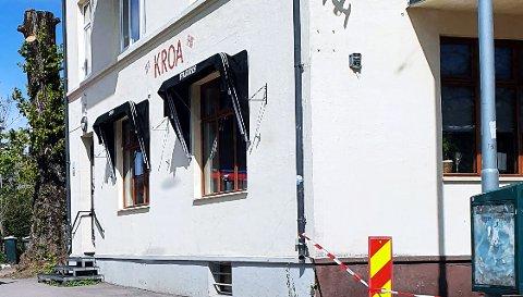 STRAKS KLARE: Også Kroa framskynder gjenåpningen. Det skjer mandag 18. mai, med øl og pizza.
