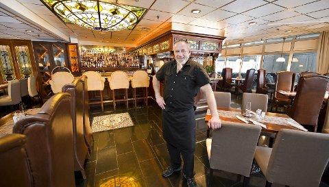 SLUTT: Kai Øverby har meldt oppbud for restauranten Bastian i Kongsvinger. – Det gikk ikke lenger, sier han.FOTO: JENS HAUGEN