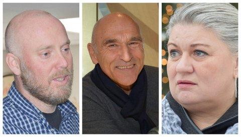 REAKSJONER: Senterpartiets Odd-Amund Lundberg reagerer på at det haster med Buchardt-avgjørelse. Ordfører Anita Ihle Steen sier hun tok avgjørelsen om møtet.