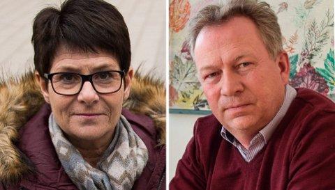 SØKERE: Hilde Dahl Lønstad, konstituert skolesjef, og Kjetil Ulset, prosjektleder/rådgiver ved skolekontoret, vil begge bli Gjøviks nye skolesjef.