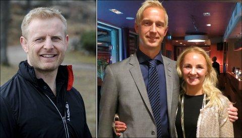ANGRIPER KONKURRENTEN: Thomas Amundsen (t.v.) i Family Sports Club mener Anders Viken og Veronika Lund i Spenst Halden stjeler og kopierer deres ideer og konsepter.