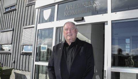 BEST ALENE: – Aremark er best tjent med å stå alene, skriver rådmann Jon Fredrik Olsen i sin innstilling til kommunestyret. Ffoto: Jan Erik Sørlie