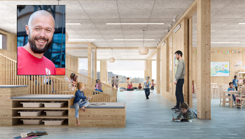 FORKJEMPER: Arve Sigmundstad i Ap mener det kan få store negative konsekvenser for Halden-samfunnet dersom planene om storskole på Os stanses.
