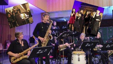 Nokre av julekonsertane du kan få med deg i år: Hardanger Big Band, Oddakonsertene og Tyssedalkoret.