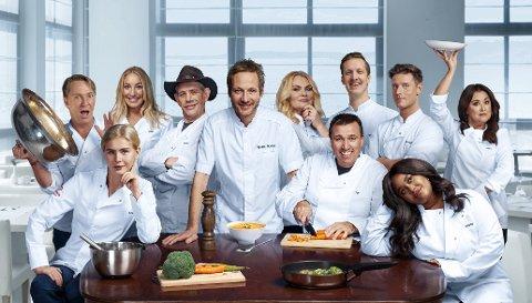 Her er gjengen som skal drive restaurant saman på TV denne vinteren.