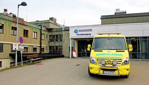 Sykehuset i Mosjøen.