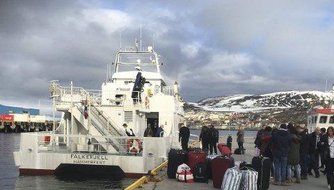 ROCKEBÅT: Falkefjell blir en av flere rockebåter som skal gå til Sørøyrocken i sommer.
