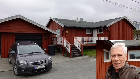 FORNØYD: I vinter 2019 solgte Svein Harald Robertsen sitt forrige hus og kjøpte seg et mer moderne hus i Berlevåg.