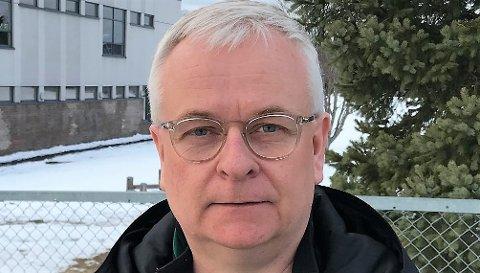 MÅ UTSETTE BYGGEPLANER: Leder Vegard Tønsberg og AFSK må utsette planene om å bygge på Aurskoghallen. Dette ble klart etter klubbens årsmøte torsdag.