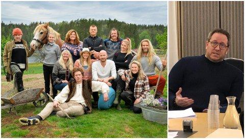 KLAR FOR FARMEN KJENDIS: Tirsdag startet årets sesong av Farmen Kjendis på TV 2. Der deltar John Arne Riise som raskt havner i konflikt med en annen deltaker. Til høyre: Manager Erland Bakke.