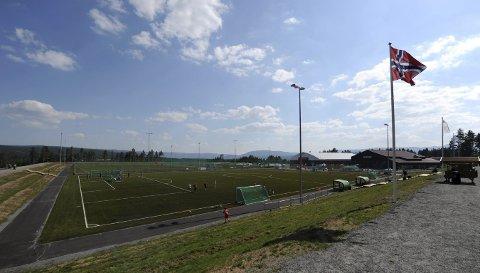 FOTBALLFEST: Nesten 1.200 fotballspillere skal i aksjon i Skrim cup lørdag.