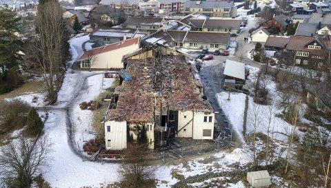Kongsberg Skinnarberga brann