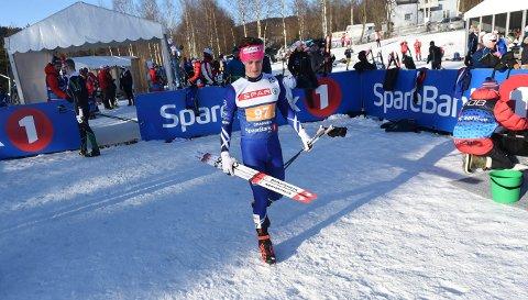 ANKERMANN: Anders Martin Jørstad gikk ankeretappen for Skrim, som ble nummer 95 i NM-stafetten. ALLE FOTO: OLE JOHN HOSTVEDT