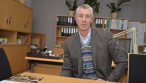 Ny skoleleder: Lasse Thorvaldsen gleder seg til å bli rektor på Kirkeparken videregående skole i Moss.