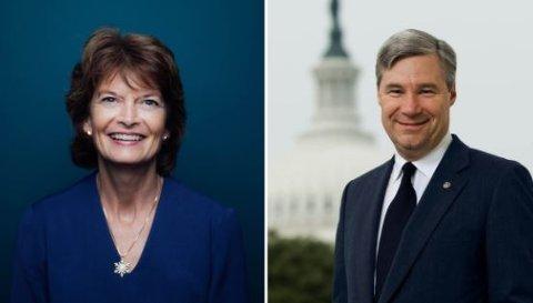 Den republikanske senatoren Lisa Murkowski (Rhode Island) og den demokratiske senatoren Sheldon Whitehouse (Alaska) kommer til Arctic Frontiers.