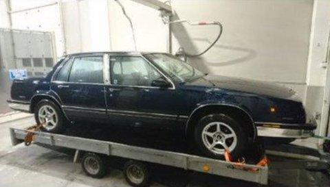 RASKT OPPKLART:  Denne tilhengeren og bilen ble etterlyst, men saken ble raskt oppklart.