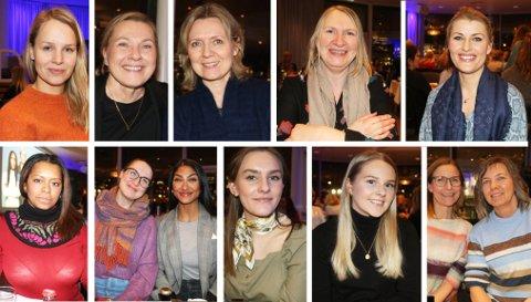KVINNER OM SPARING: Disse tolv var blant flere hundre kvinner som denne uka var samlet på arrangementet #hunivesterer til DNB.