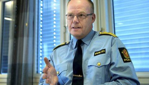 FOR GJØVIK: Politimester Johan Martin Welhaven. Arkivbilde
