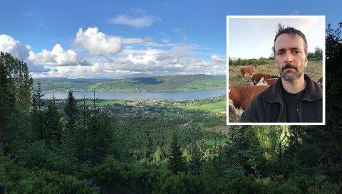 MAT FRA BIRI: Frederik Semb skal sammen med tre andre bønder fra Biri bringe lokal mat til folket.