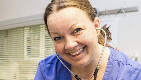 Jeanette K. Gulliksen Dyrlege ved Larviks smådyrklinikk, ny spaltist i ØP Foto: Sigrid Ringnes