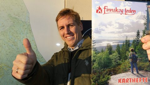 OPTIMIST:  – Vi har en god mulighet til å komme på lista hvis vi gjør jobben, sier styreleder i Finnskogen Natur- og KUlturpark, Kristian Botten Pedersen.
