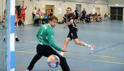 TRYGG: Sigvaldi Gudjonsson satte inn seks mål mot Kolstad.